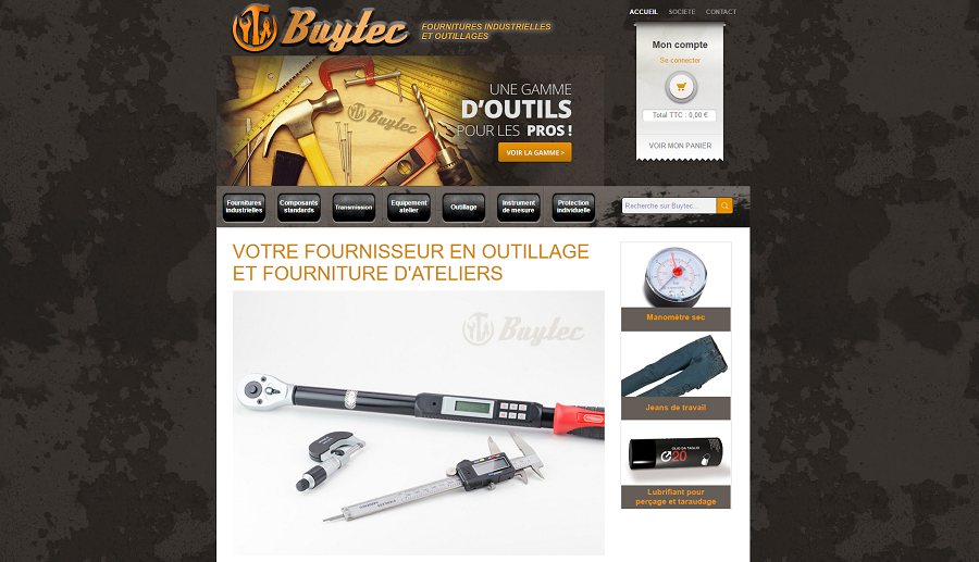 création site ecommerce buytec