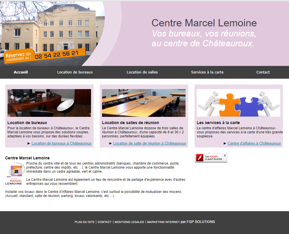 centre affaire marcel lemoine marketing internet