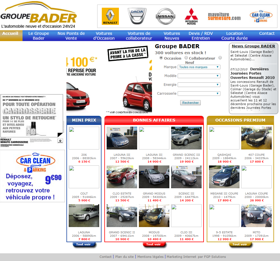 marketing digital groupe commerce automobile