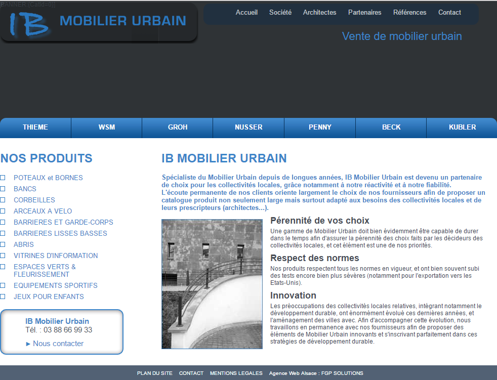 ib mobilier urbain marketing digital