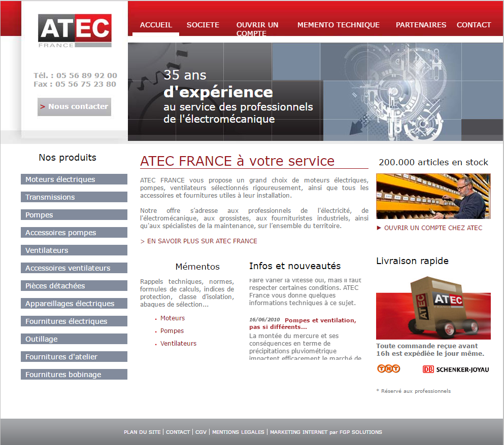 atec france collaboration web marketing digital