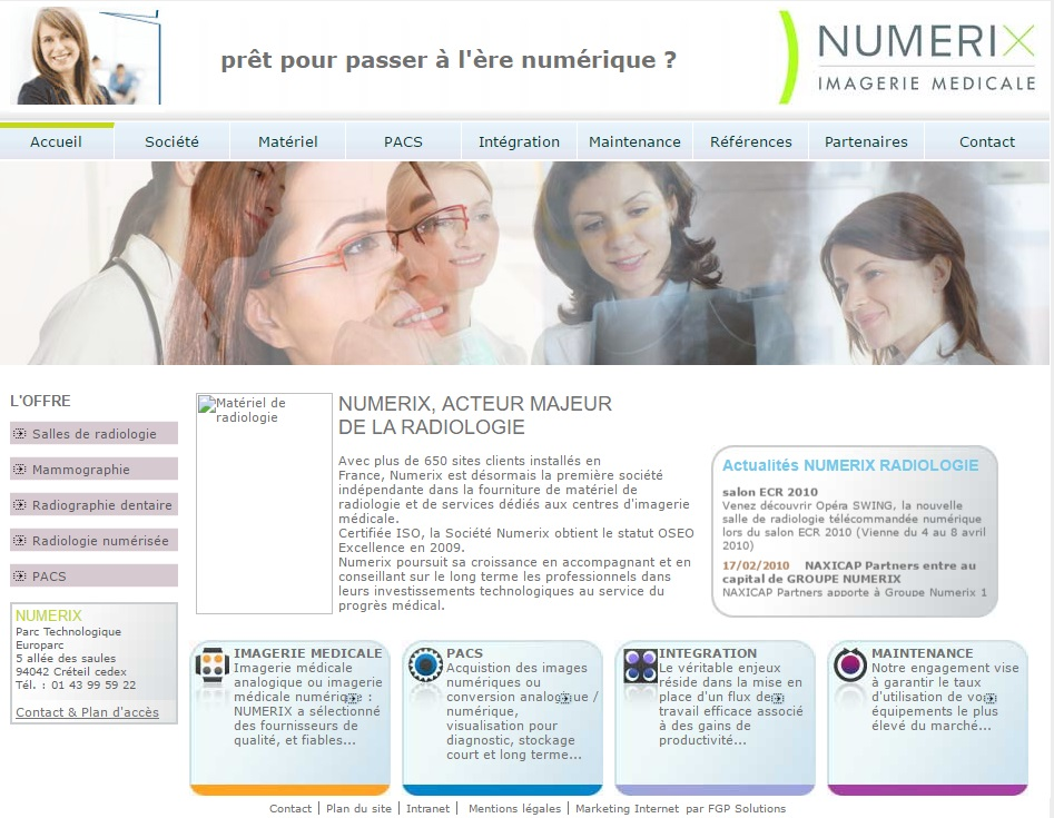 numerix collaboration webmarketing