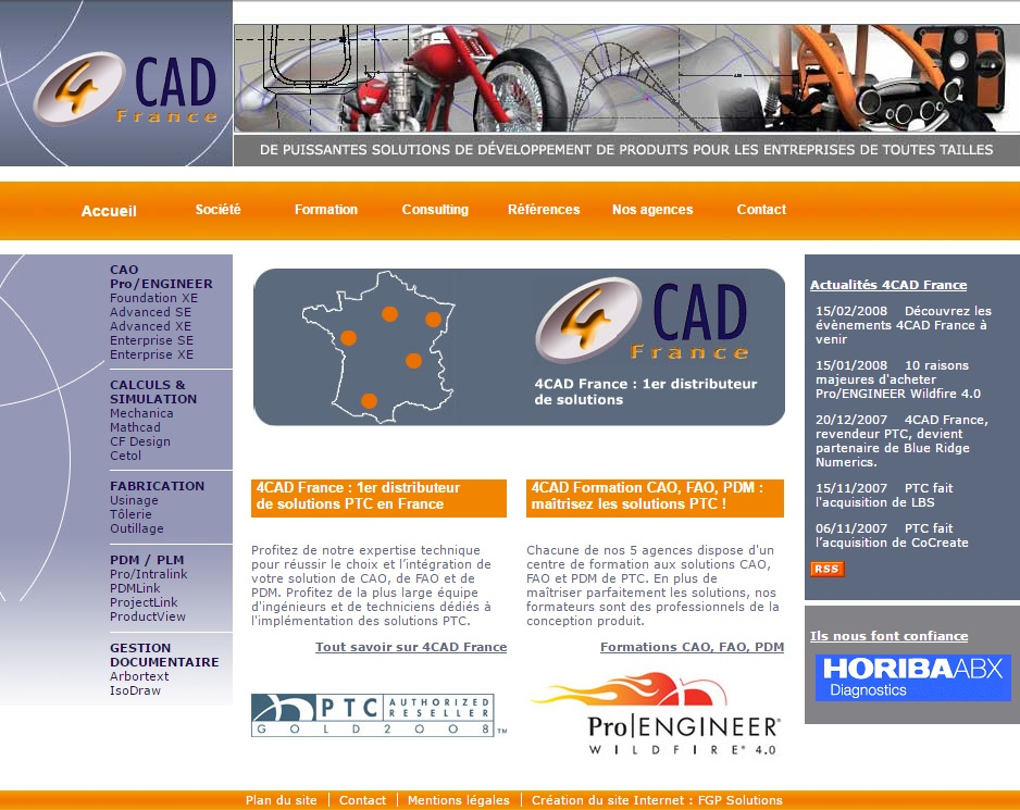 4cad marketing internet agence fgp solutions